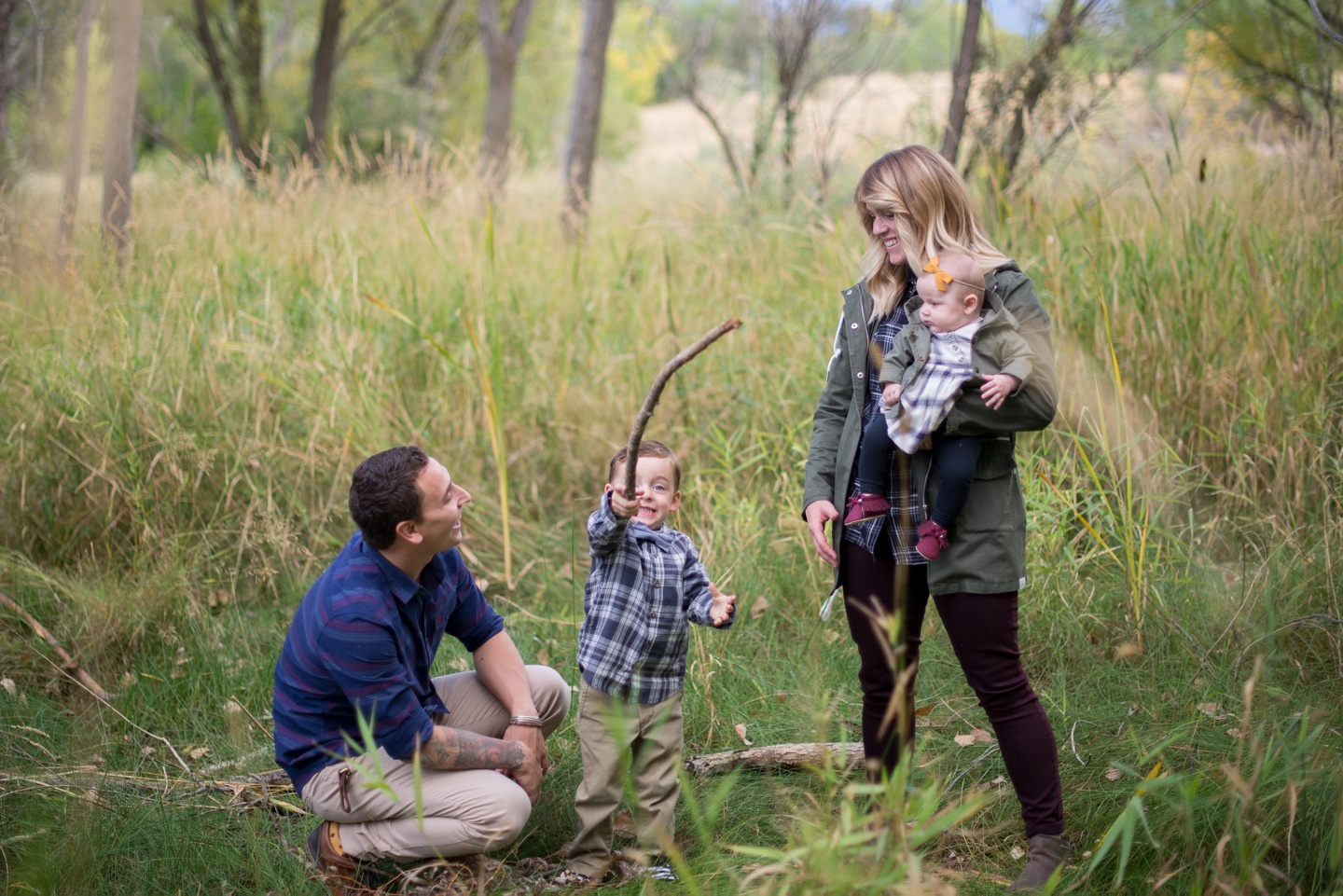 DAmico family photoshoot by The Aperture Company Photographers in Utah