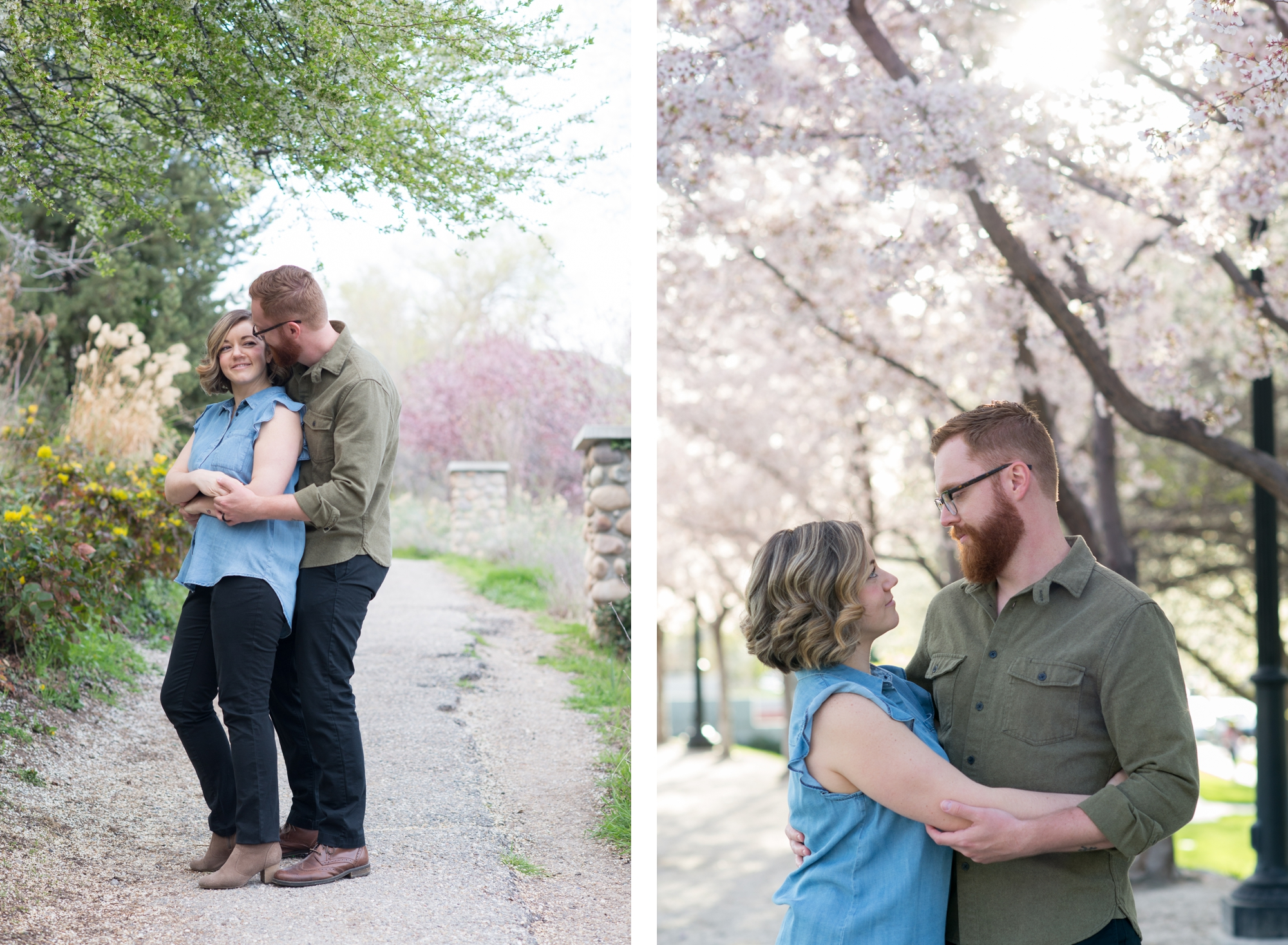 Rachel & Brad Engagement Photoshoot by The Aperture Company in Salt Lake City Utah